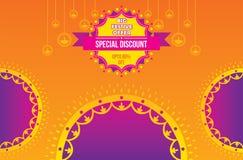 Diwali Festival Offer Poster Design Layout. Creative Diwali Festival Offer Poster Design Layout Template, special discount vector illustration