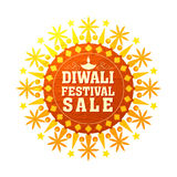 Diwali Festival Sale Poster, Banner or Flyer. Diwali Festival Sale Banner, Special Offer Flyer, Sale and Discount Poster, Creative shiny background, Vector Royalty Free Stock Photos