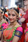 Diwali festival smile. Diwali festival of lights 2017 young lady smiling in New York City