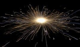 Diwali-Festivalfeier in Indien mit Crackern lizenzfreie stockfotografie