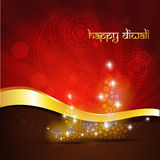 Diwali Festivalhintergrund Stockfotografie