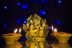 Diwali festivallampa royaltyfri fotografi