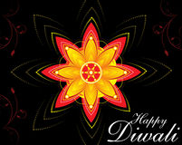 Diwali floral background Stock Photos
