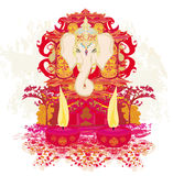 Diwali Ganesha Design Royalty Free Stock Image