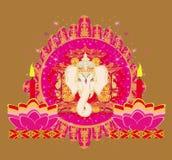 Diwali Ganesha Design Royalty Free Stock Photos