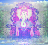 Diwali Ganesha Design Royalty Free Stock Photography