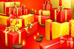 Diwali Gift Royalty Free Stock Photos