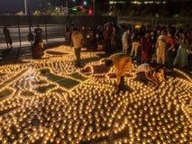 Diwali at Googleplex. MOUNTAIN VIEW, CA/USA - OCTOBER 24: IGN (Indus Googler Network) Diwali celebration at the GARField Google campus on October 24, 2014