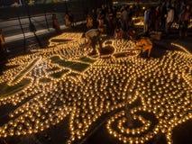 Diwali at Googleplex Royalty Free Stock Photo