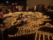 Diwali at Googleplex Stock Photo