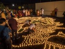 Diwali at Googleplex Stock Image