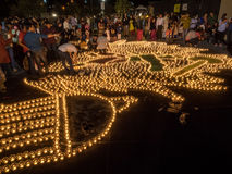 Diwali at Googleplex Royalty Free Stock Photos