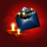 Diwali greeting vector illustration
