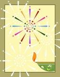 Diwali Greeting Royalty Free Stock Image