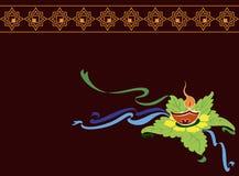 Diwali Greeting Stock Image