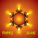 Diwali greeting background Stock Photo