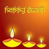 Diwali greeting background Royalty Free Stock Images