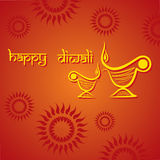 Diwali greeting background. Illustration of diwali greeting background Stock Photos