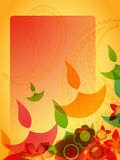 Diwali greeting background Stock Images