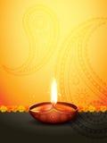 Diwali greeting stock illustration