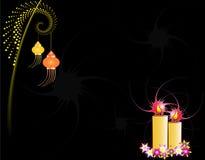 Diwali Greeting Royalty Free Stock Photography