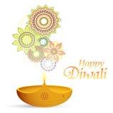Diwali greeting card Stock Photo