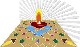 Diwali Greeting Royalty Free Stock Photos