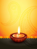 Diwali greeting design Stock Photo