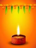 Diwali greeting design Royalty Free Stock Photo