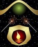 Diwali Greeting Stock Photos