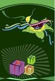Diwali-Gruß Stockfoto