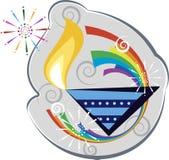 Diwali hälsning Arkivbild