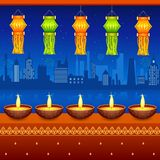 Diwali Hanging Lantern Royalty Free Stock Photos