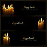 Diwali headers Stock Photography