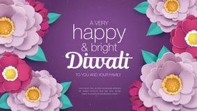 Diwali heureux Photographie stock libre de droits