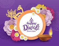 Diwali heureux Images libres de droits