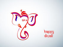 Diwali Hintergrund Lizenzfreie Stockfotografie