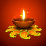 Diwali Holiday background Royalty Free Stock Photos