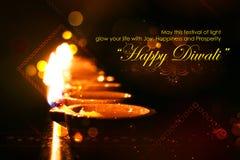 Diwali Holiday background Stock Images