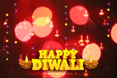 Diwali Holiday background Stock Photos