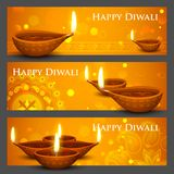 Diwali Holiday banner Stock Image