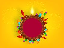 Diwali 2018 Illustration website header vector illustration