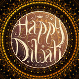 Diwali Indian festival greeting card Royalty Free Stock Photography