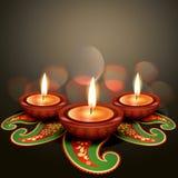 Diwali indio del festival stock de ilustración