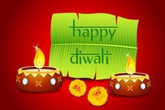 Diwali Invitation Royalty Free Stock Images