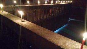 Diwali Kerze lizenzfreie stockfotografie