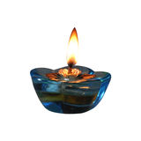 Diwali lamp. Decorative crystal lamp self illuminated Royalty Free Stock Image