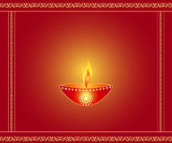 Diwali lamp Stock Images
