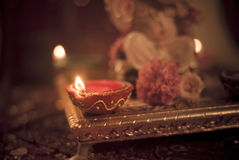 Diwali lamp Royalty Free Stock Images