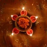 Diwali lamp Stock Photography